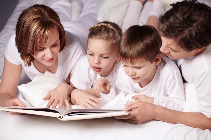 как правильно читать детям книги